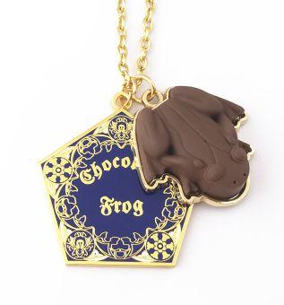 COLAR  SAPO DE CHOCOLATE - HARRY POTTER