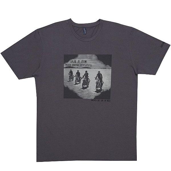 Camiseta Masculina Salar de UYUNI Let´s Ride On
