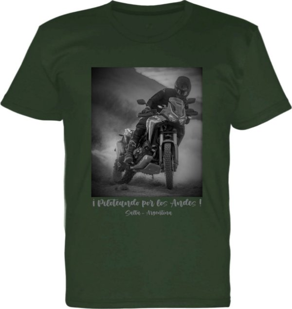 Camiseta Masculina ANDES Let´s Ride On