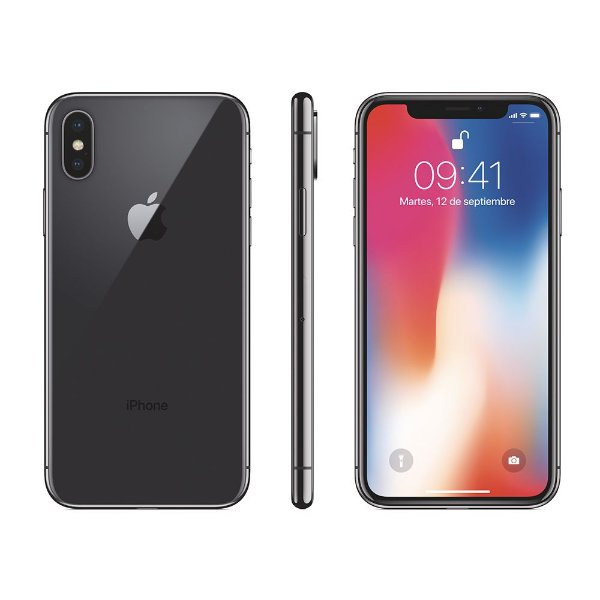 "22f03a9dd Iphone X 256gb Cinza Espacial Original Apple 4G Tela 5.8"" - OLED Câm. 12"