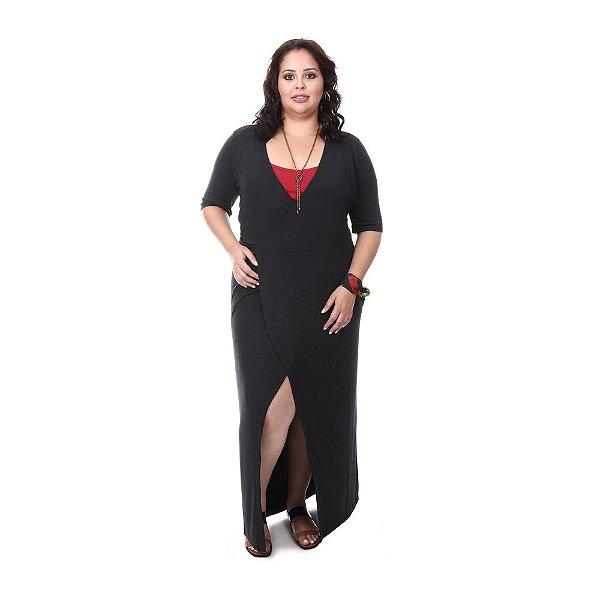 Vestido Plus Size longo Renata | Loulic