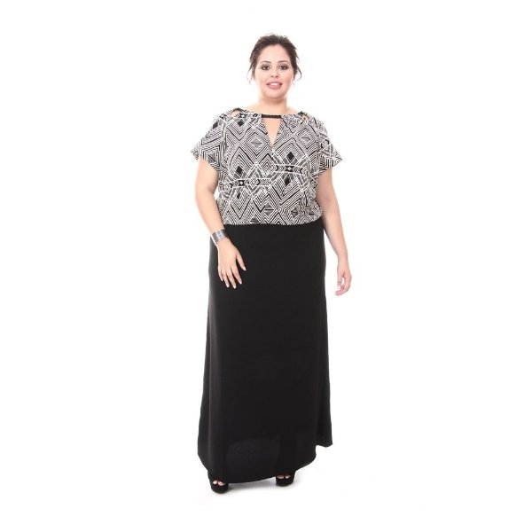 Vestido Plus Size Milena | Loulic