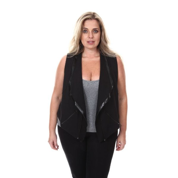Colete Plus Size Bruna | Loulic