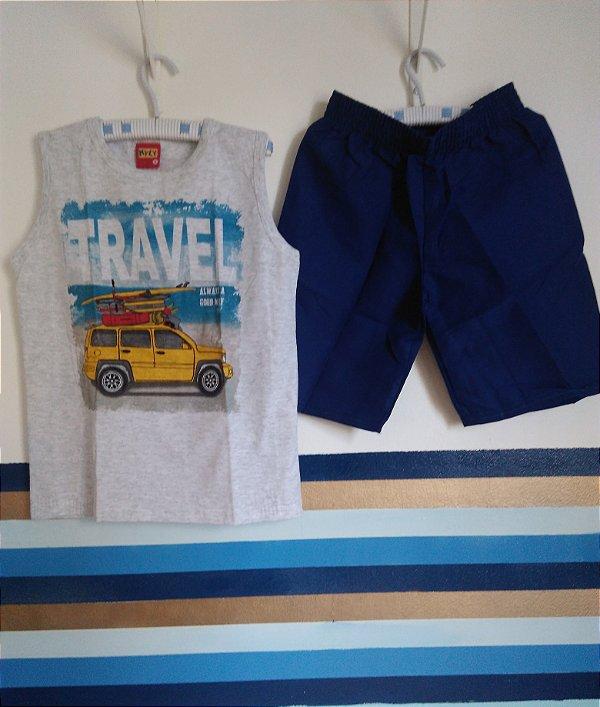 4db33cd6b Conjunto Infantil Masculino Travel Always a Good Way Kyly - Buju ...