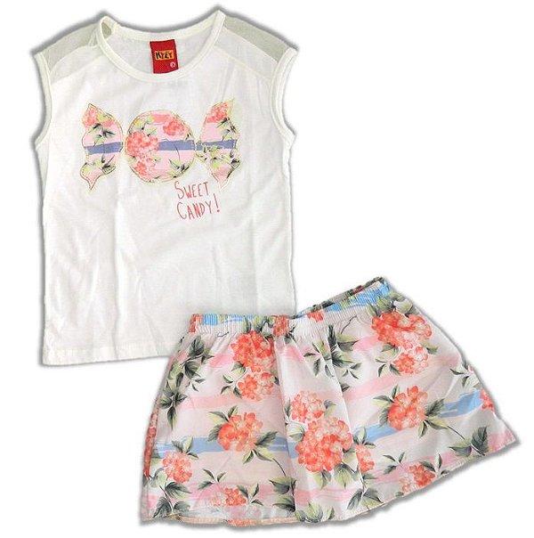 dd3d53954 Conjunto Sweet Candy Kyly - Buju Baby & Kids