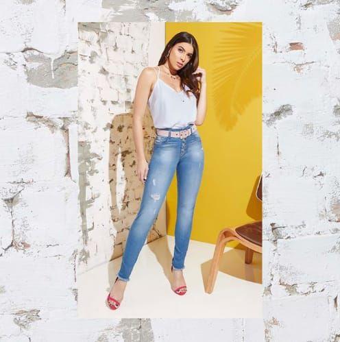 Calça Jeans Lavado vcbl