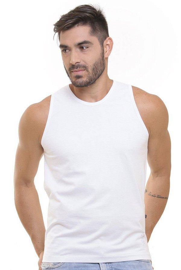 Camiseta Regata Oitavo Ato Branco