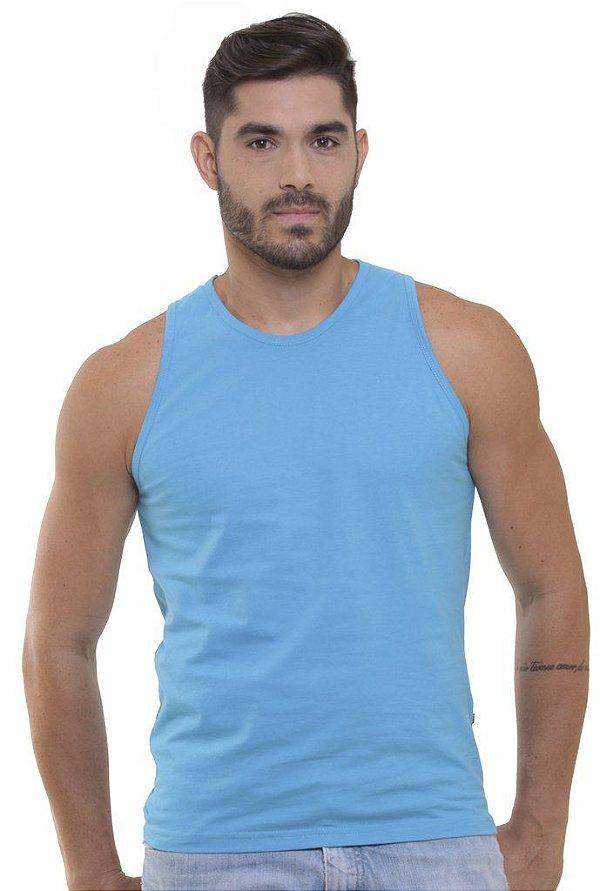 Camiseta Regata Oitavo Ato Azul Turquesa