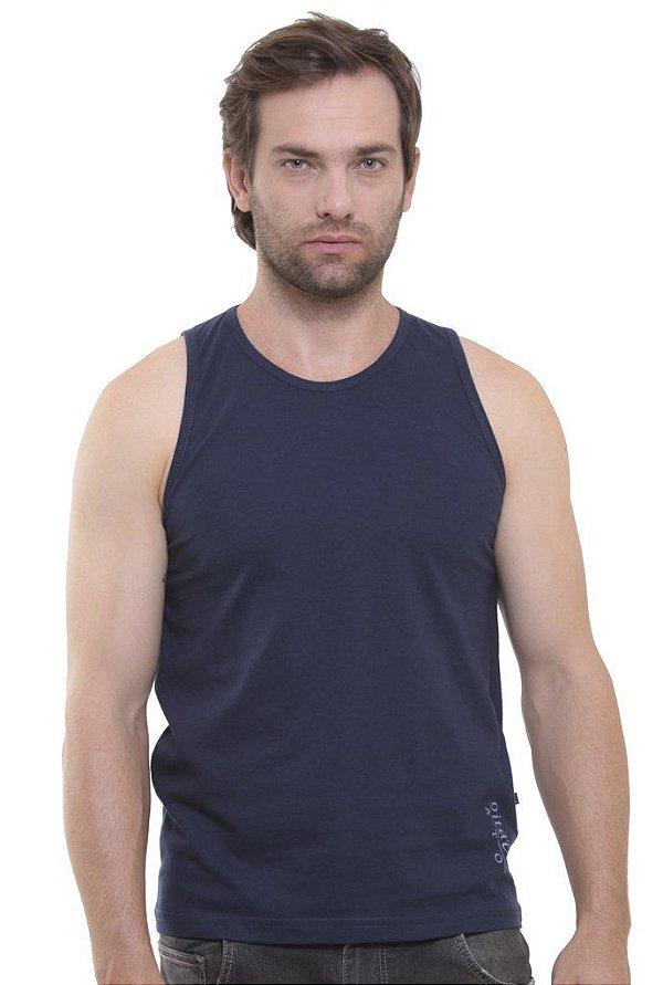 Camiseta Regata Oitavo Ato Azul Marinho