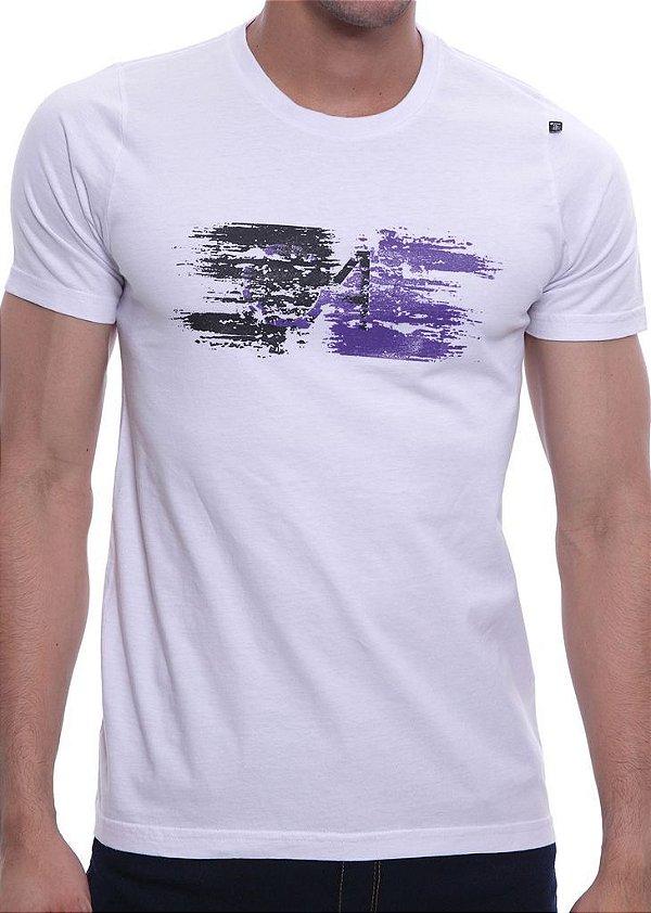 Camiseta Oitavo Ato Paint Branco