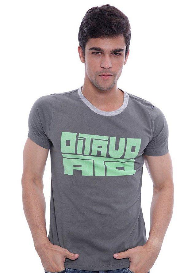 Camiseta Oitavo Ato Strong Chumbo