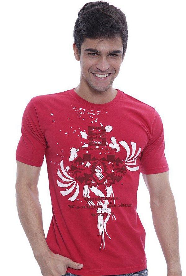 Camiseta Oitavo Ato Eight Vermelho