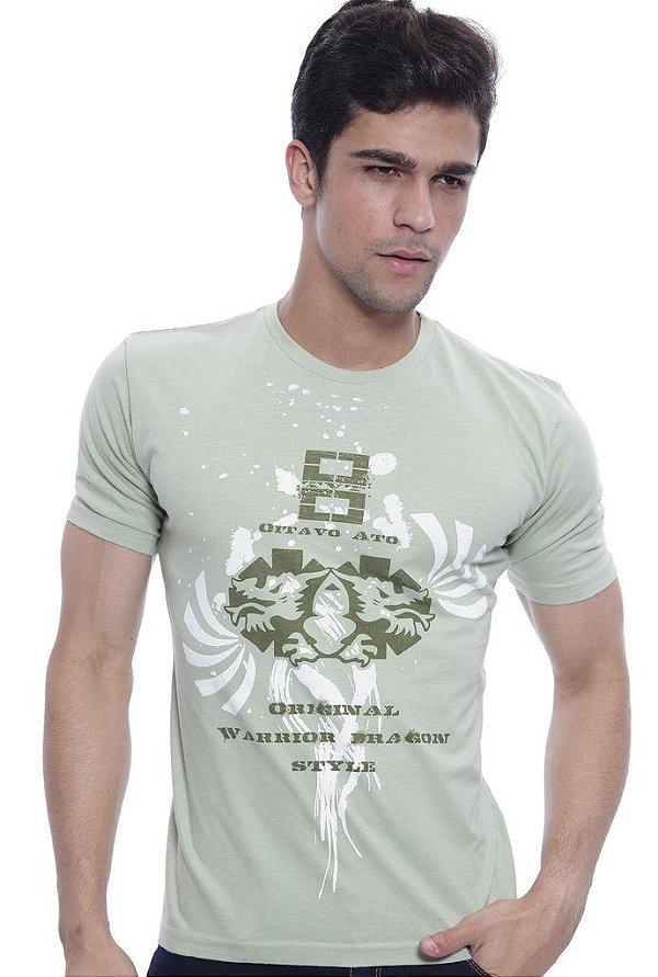 Camiseta Oitavo Ato Eight Verde Ervas