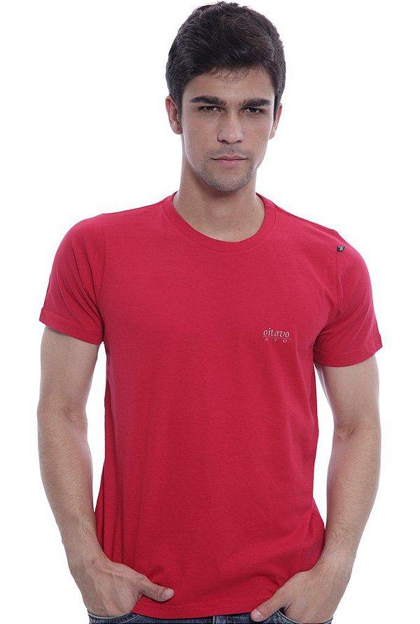 Camiseta Oitavo Ato Mouse Vermelho
