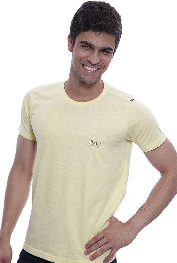 Camiseta Oitavo Ato Keyboard Amarelo