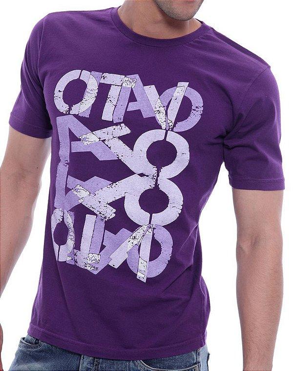 Camiseta Oitavo Ato Bandaid  Roxo