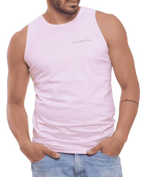 Camiseta Regata Oitavo Ato Cantareira Jeep Rosa