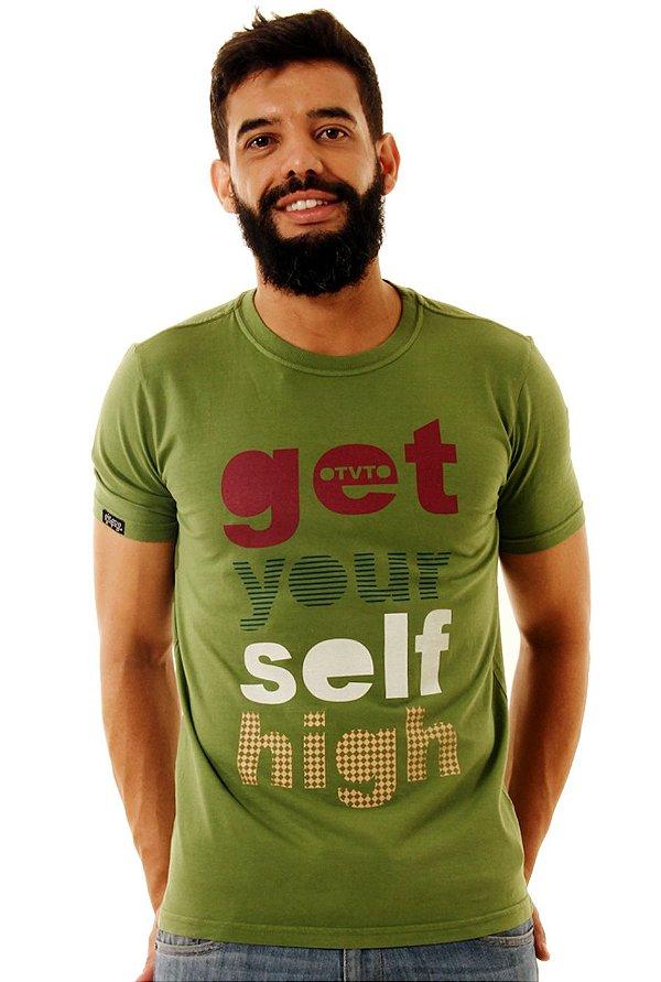 Camiseta Oitavo Ato Get Your Self Verde Boldo