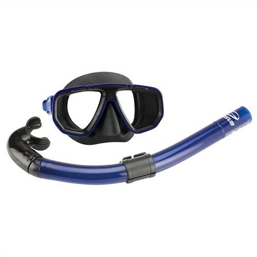 Kit Dua Com Máscara e Snorkel Para Mergulho - Seasub
