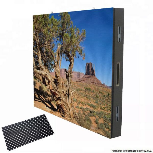 Módulo Painel LED P5 RGB 2727 SMD 64x32PX 1/8 Scan HUB75 USO EXTERNO K2531