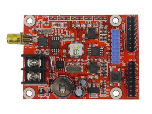 Placa Controladora TF-S6W 2xHUB12 + 1xHUB08 + Antena Para Painel De LED K2550