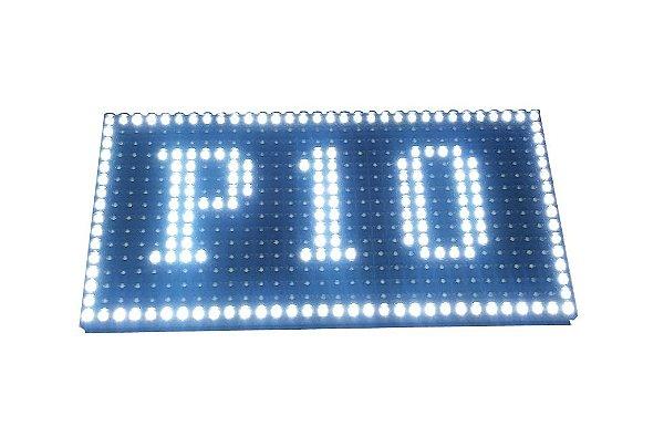 Modulo para Painel LED P10 Branco 32x16cm HUB12 P10(1R) Interno K2540