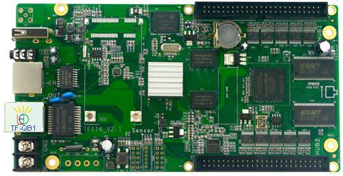 Placa Controladora TF-QB1 + Adaptador HUB75Q010 para Painel de LED K2573