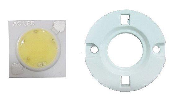LED 5W Branco Quente 3000K Driverless 220VAC 1414D10 K2420