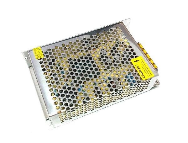 Fonte 5V/10A S-50-5 Bivolt Automática 85-265VAC P/ Painel LED K2252