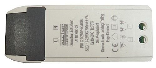 Fonte Driver Para 4 A 6 LEDs De 2W Ou 3W 220V Dimerizavel K2210