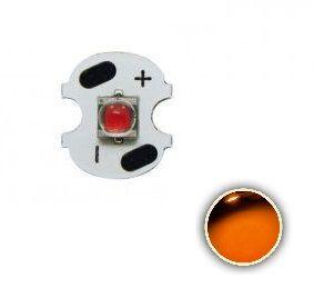 Power LED Cree XPE 3W Amarelo Âmbar 585nm (P3) 8mm K2206