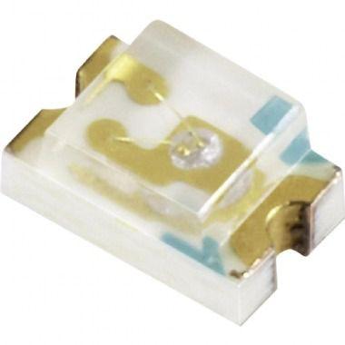Led 0805 Amarelo Cristal C0018