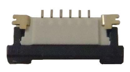 Conector ZIF FPC 1.0MM 6 pinos K0248