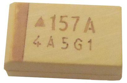 Capacitor De Tântalo 150uf/10v Size D Smd K0121