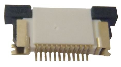 Conector ZIF FPC 0.5MM 12 pinos K0258