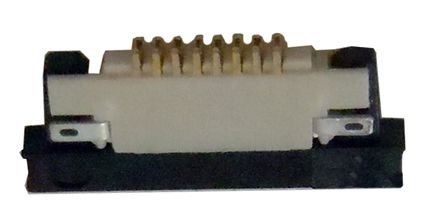 Conector ZIF FPC 0.5MM 8 Pinos K0256