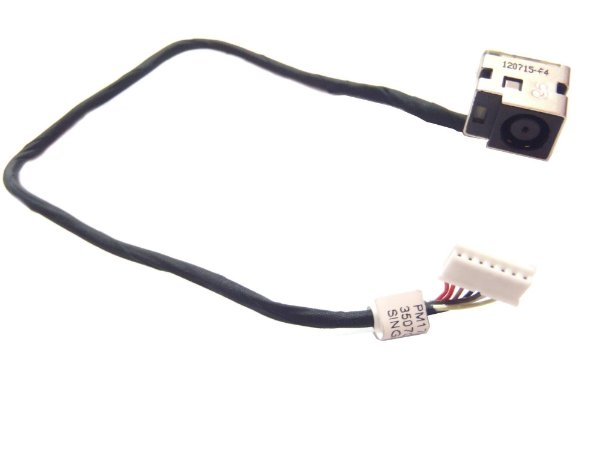 Conector Dc Jack Hp Compaq G62 (7pin With Cable) K0837