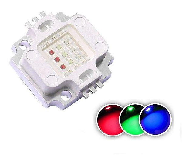 LED 10W RGB (3*3W) K1196