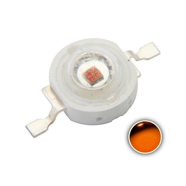 LED 1W Amarelo Âmbar 590-595nm K1125