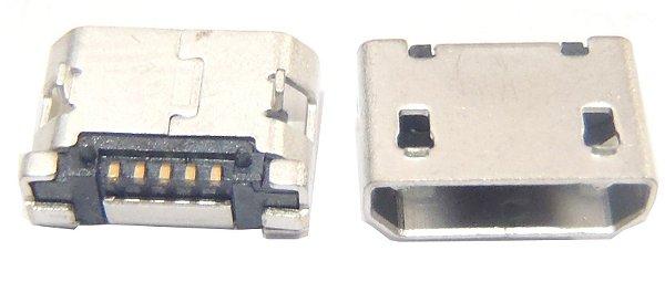Conector Micro USB 5 pinos 5.1 K1445