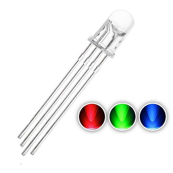 LED 5mm RGB Anodo Comum Alto Brilho K1343