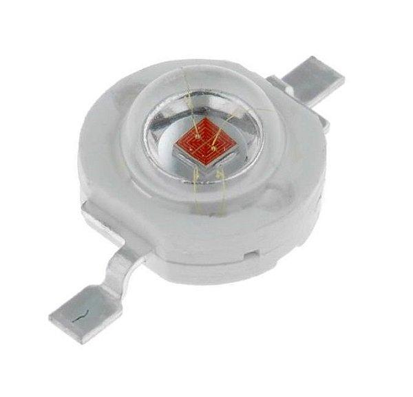 LED 3W Amarelo Ambar 590-595nm K1312