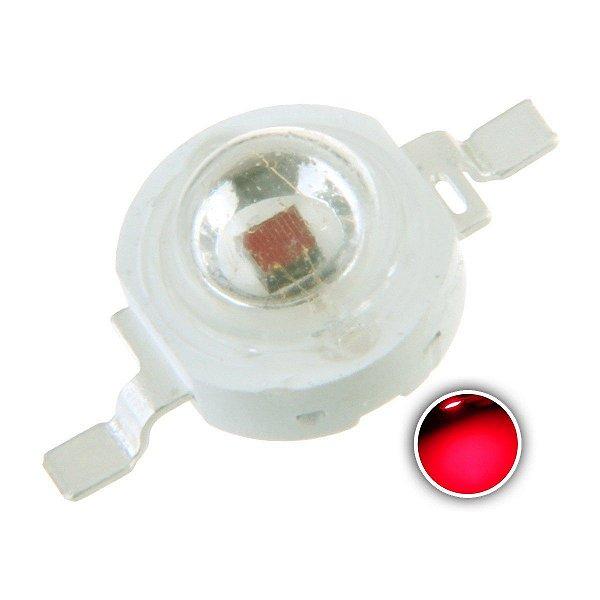 LED 3W Vermelho 620-630nm K1311