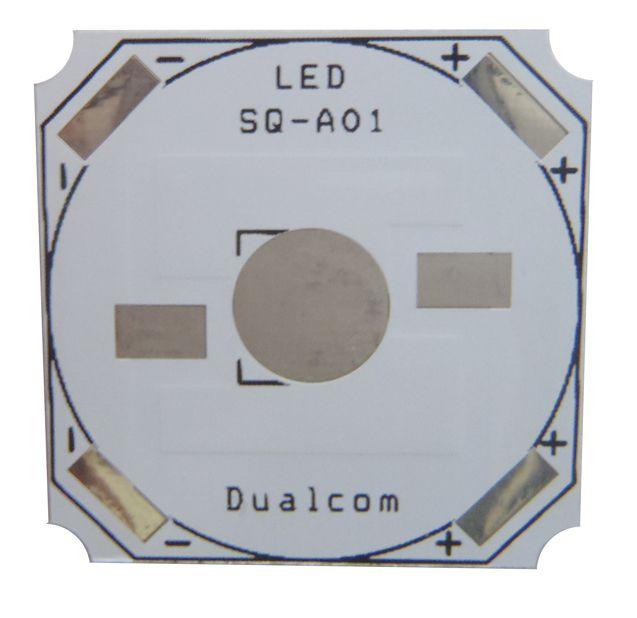 Placa MCPCB Quadrada Para LED De 1W Ou 3W K1639