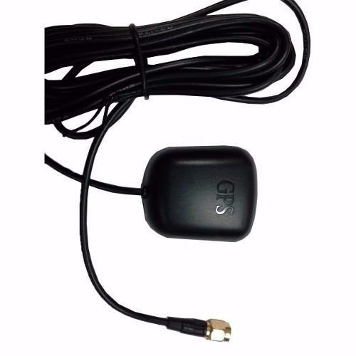 Antena Gps Automotivo - Rastreadores E Central Multimidia SMA Cabo 3 metros K1635