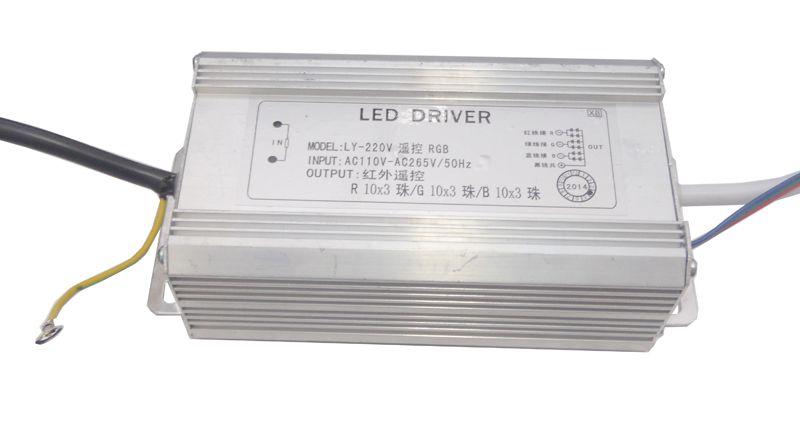 Fonte Driver para 1 LED de 100W RGB Bivolt IP67 K1581