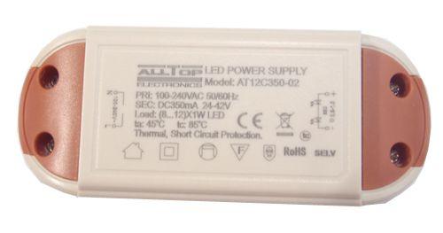 Fonte Driver para 8 a 12 LEDs de 1W Bivolt K1734