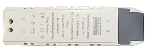 Fonte Driver para 8 a 12 LEDs de 3W 110V Dimerizavel K1725