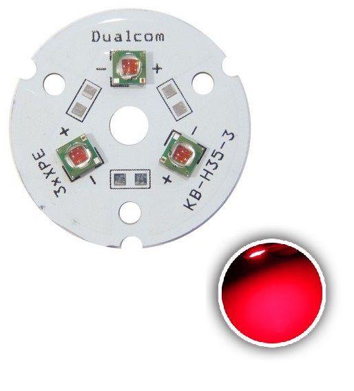 Power LED Cree XPE 9W Vermelho 620nm (N3) K1677