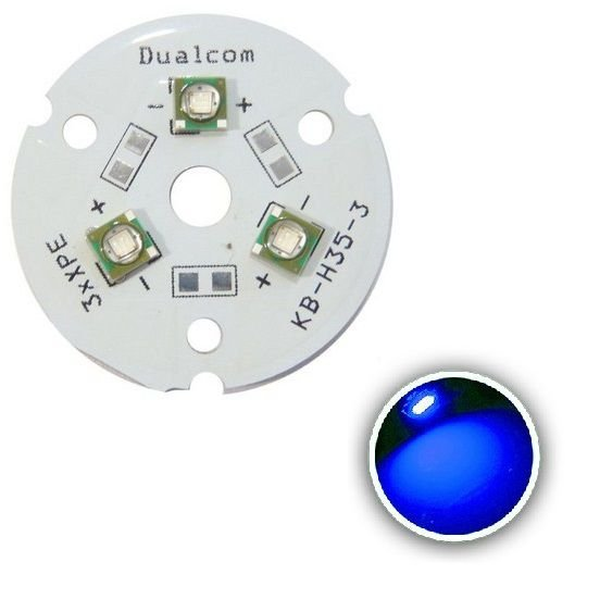 Power LED Cree XPE 9W Azul 465nm (K2) K1675